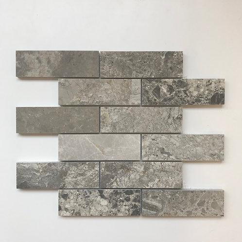 Brickjoint Pewter Polished