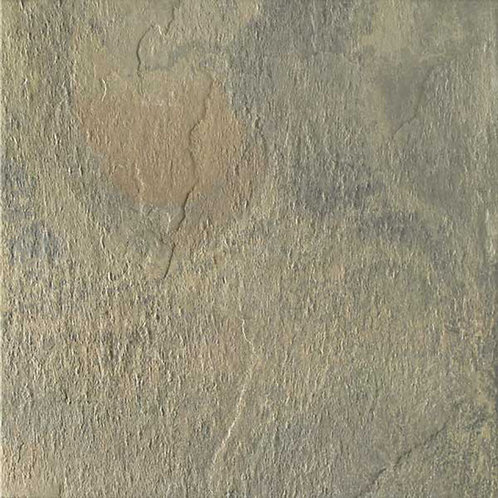Nat Nevada is a porcelain tile that imitates slate.  With a variety of colours and textured matte finish, a perfect floor.