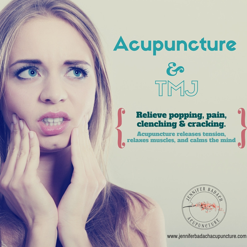 Sherwood Park Acupuncture Treats TMJ and Jaw Pain