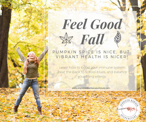 Feeling Good in Fall with Sherwood Park Acupuncture