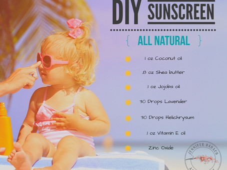 DIY (Natural) Sunscreen