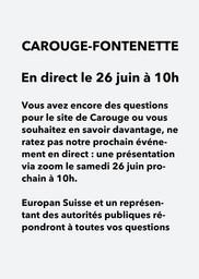 E16 - Carouge - Live Event