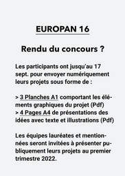 E16 - Documents à rendre