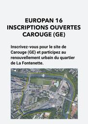 E16 - Carouge - Inscription
