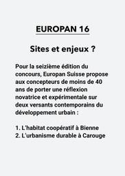 E16 - Sites et enjeux