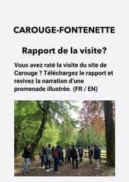 E16 - Carouge - Rapport