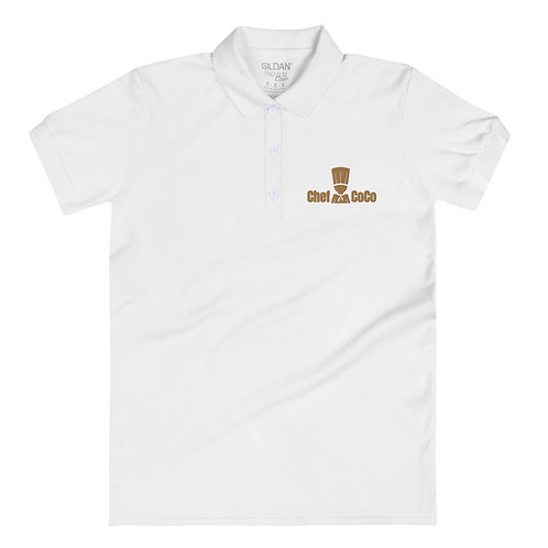 Chef CoCo Embroidered Women's Polo Shirt