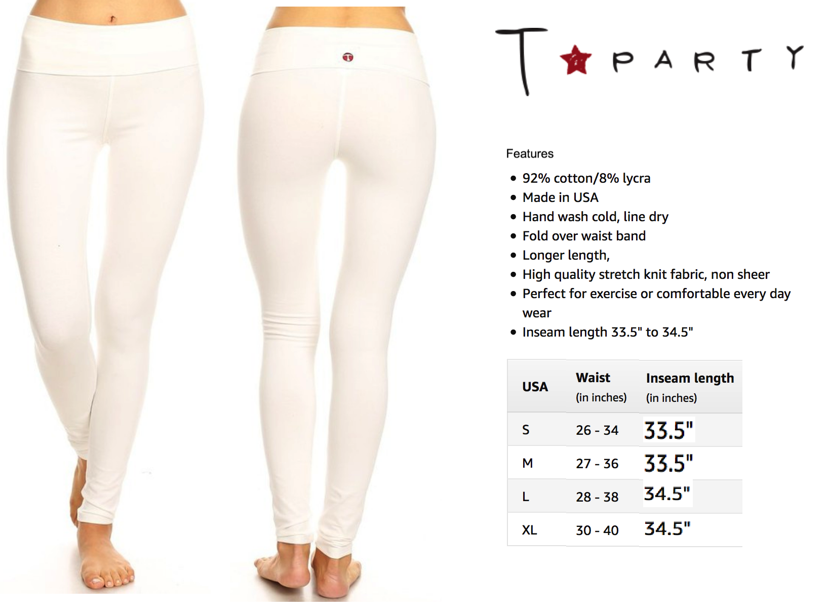 TParty True Leggings