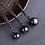 Thumbnail: Rainbow Eye Golden Bead Obsidian Necklace