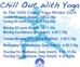 In The Hills Winter 2021 Group Yoga Schedule