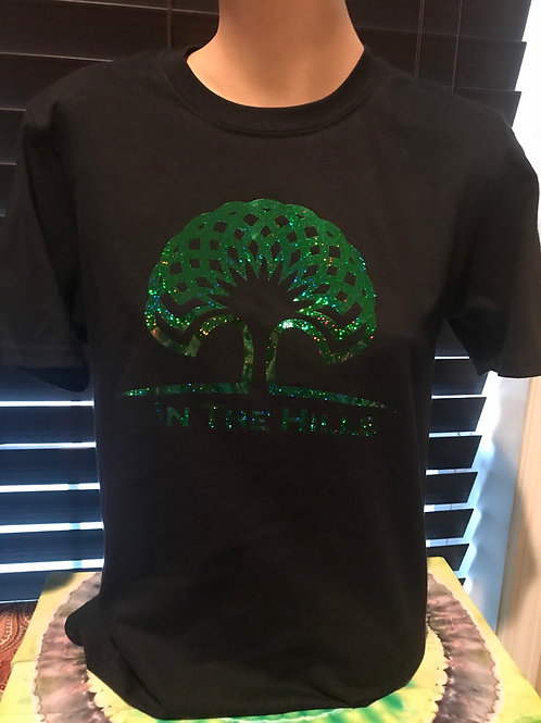 In The Hills - Holographic Green T-Shirt