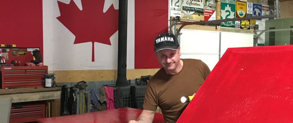Canadian Flag Red