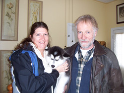 2009-04-04 Mischka goes home