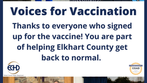 Voices for Vaccination - Thank you!
