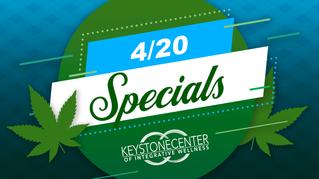 4/20 Specials