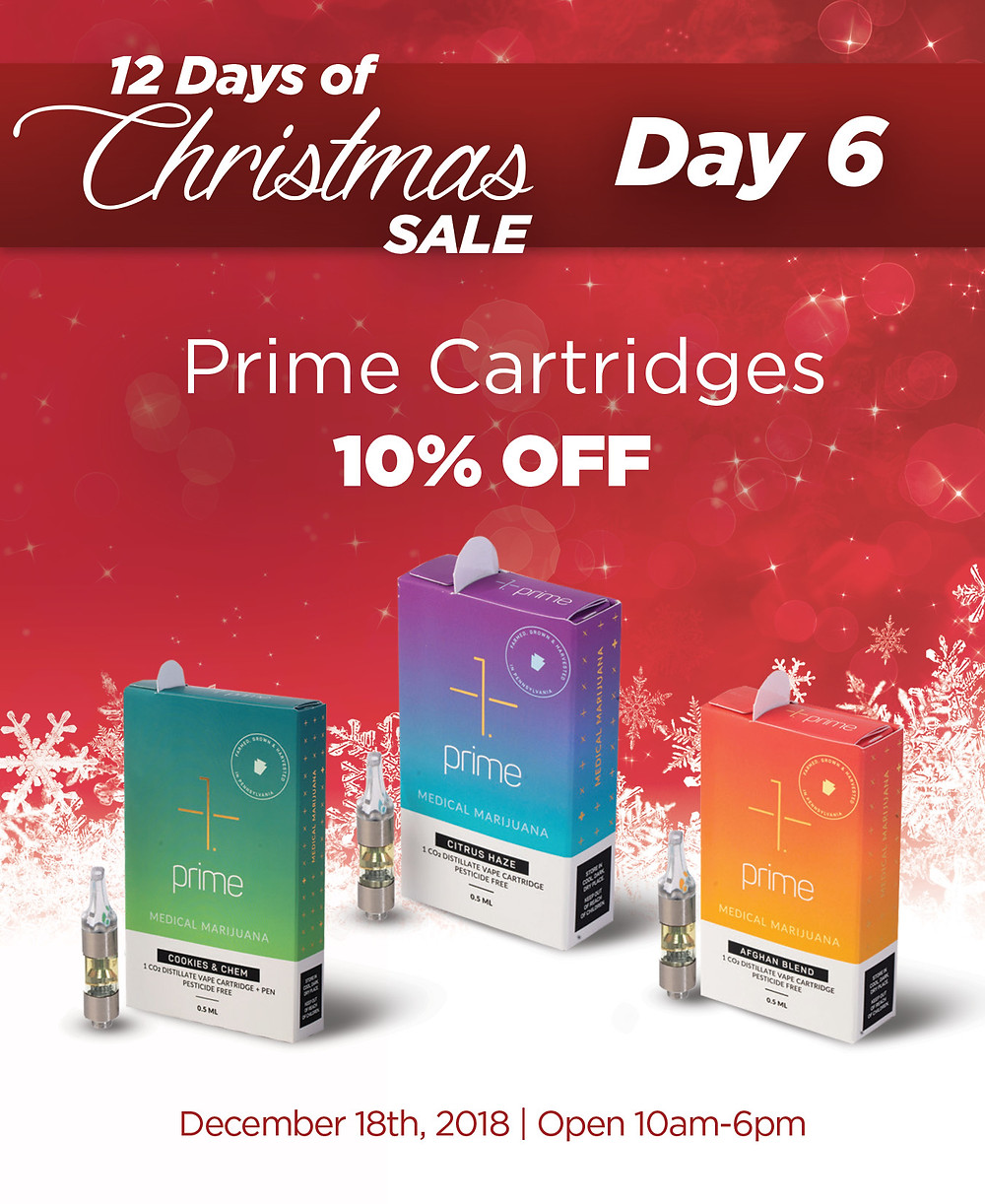 Get 10% OFF of ANY Cartridges from Prime Wellness!