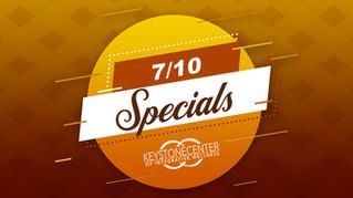 7/10 Specials