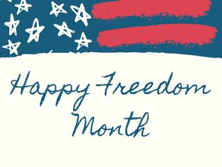 Happy Freedom Month!