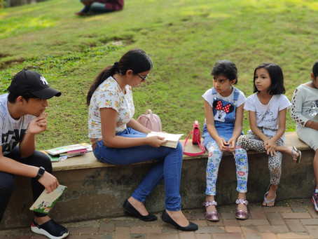 """""""SaY"""": The Importance of Reading Aloud to children of all ages"""