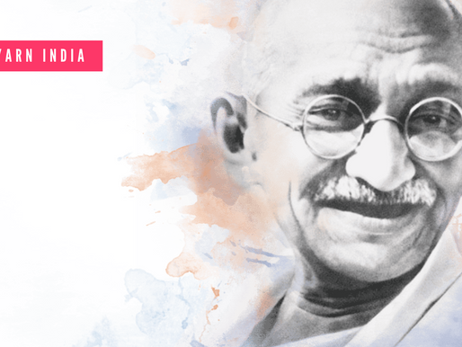 """SaY"" it with a story: How Mohandas became the Mahatma"