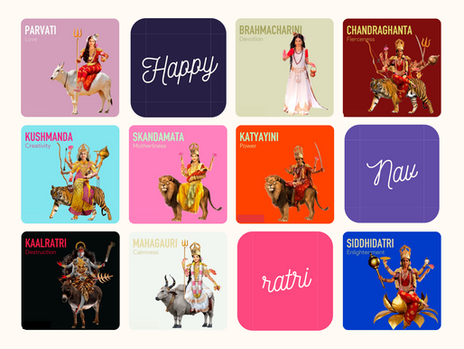 """SaY"" it with Devotion: Navratri"
