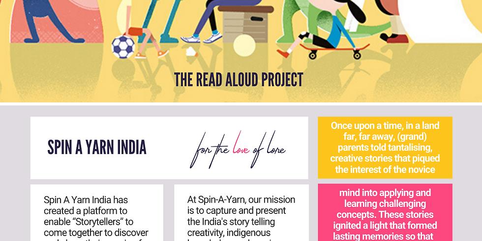 The Read Aloud Project 2020: School: Jasudben M.L. School