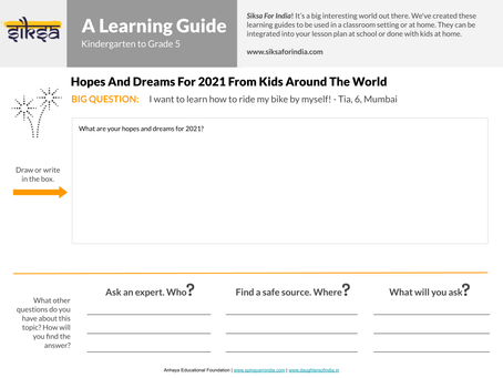 """""""SaY"""" it with Research: Hopes and Dreams for 2021"""