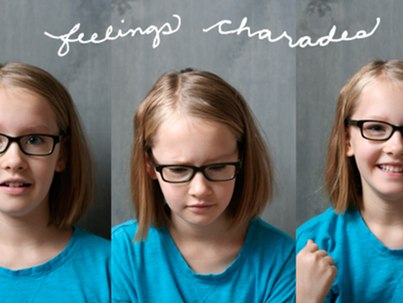 """""""SaY"""" it with a Game: Explore Body Language With Feelings Charades"""