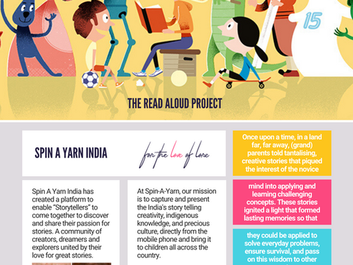 """SaY"" it with Education: Spin A Yarn India & The Literacy Curriculum in Schools"