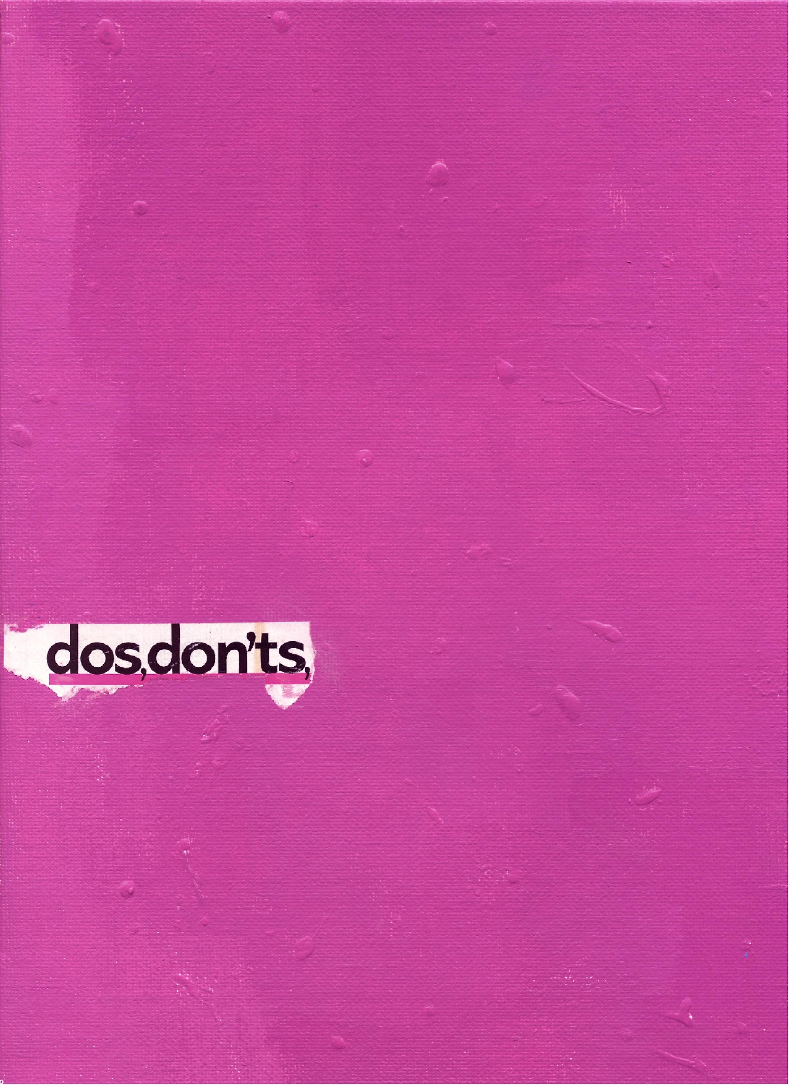 dos, don'ts, 2005