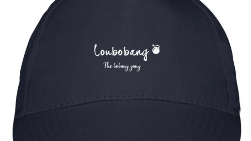 Official Loubobang Unisex Cap Embroidered Logo - Navy, White, Black or Grey
