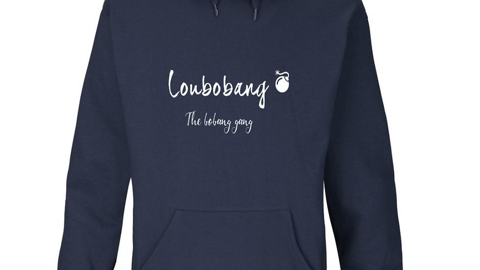 Official Loubobang Embroidered Ladies Hoodie  - Navy, Black  or Grey