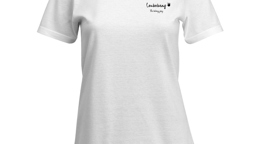 Official Loubobang Ladies Soft Cotton T Shirt - Black or White