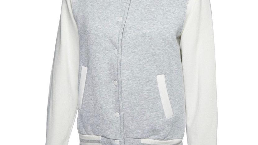 Ladies Official Loubobang Embroidered Logo Baseball Varsity Jacket