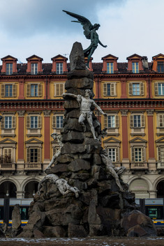 Statue dans le Centre-ville.