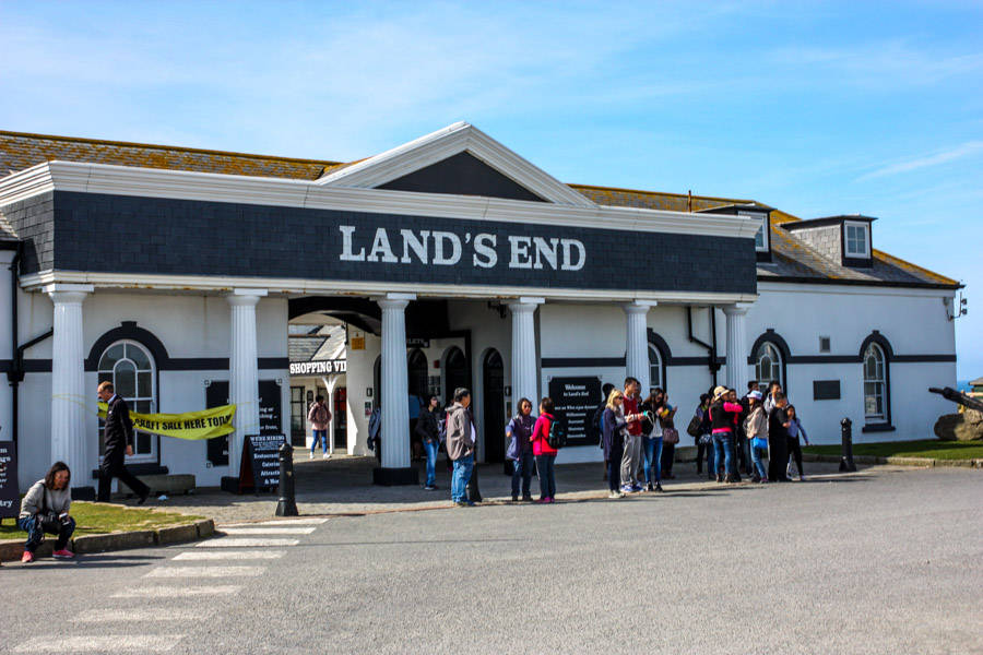 Land's end.
