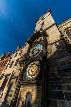 Prague - Place de la vieille ville (Staroměstské náměstí) - l'horloge astronomique