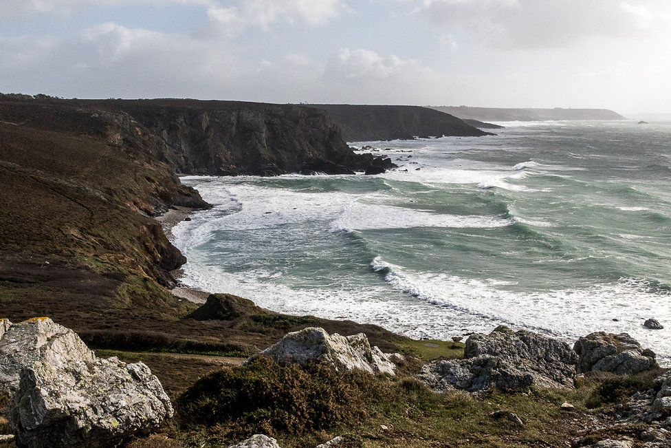 Tirage photographique - Paysage - Bretagne - Finistere - mer - falaises - Maud Dupuy