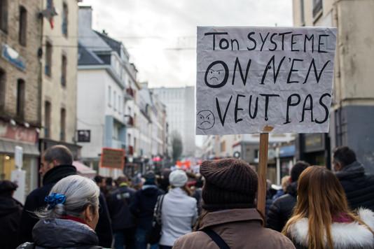 Un mois de grève contre la réforme des retraites