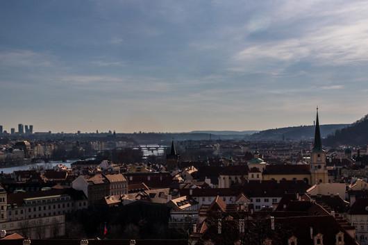 Prague - Malá Strana - vue du chateau