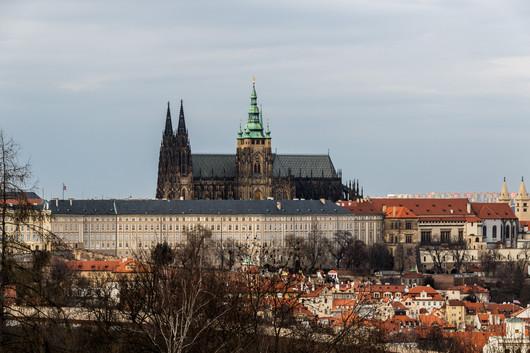 Prague - vue sur la chateau.