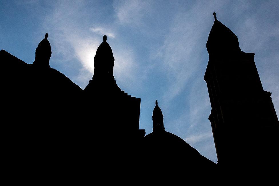 Tirage photographique - paysage - architecture - cathédrale - périgueux - contre jour - Maud Dupuy