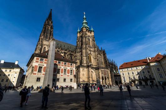 Prague - Malá Strana - cathédrale chateau