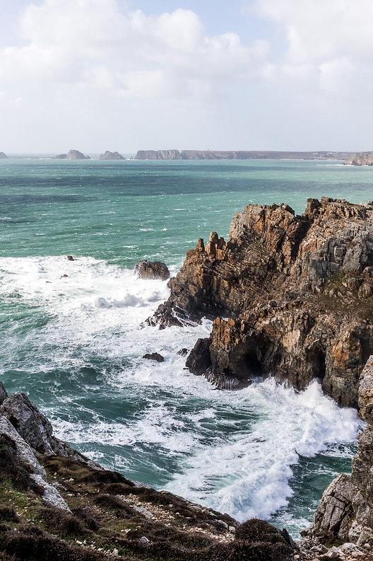 Tirage photographique - Paysage - Bretagne - crozon - mer et falaise - Maud Dupuy