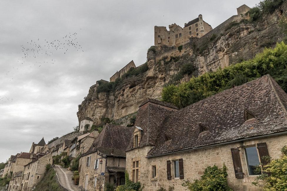Tirage photographique - sud-ouest - chateau et village de beynac - Maud Dupuy