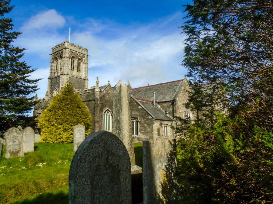 Eglise et cimetière de Liskeard
