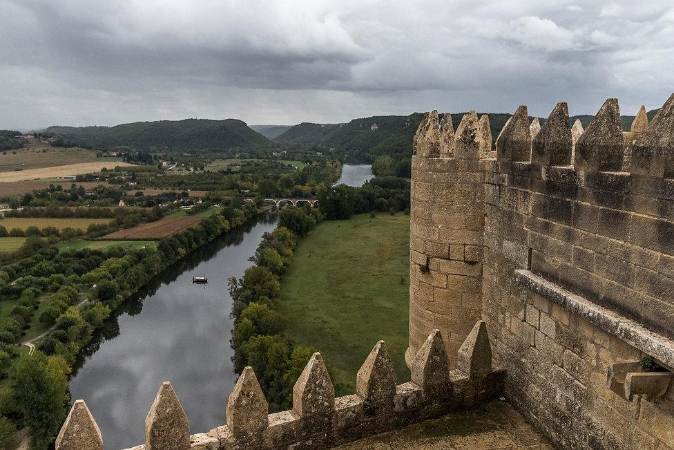 Tirage photographique - paysage - sud-ouest - Dordogne - château de Beynac - Maud Dupuy