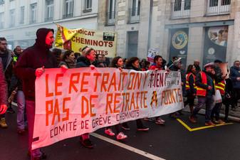 34e jour de grève contre la réforme des retraites