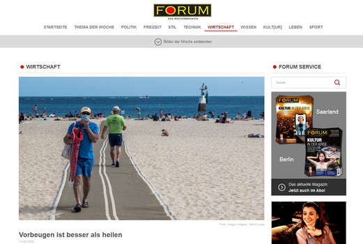 Forum Das Wochenmagazin
