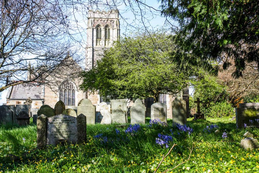 Eglise et cimetière, Liskeard.